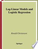 Log Linear Models and Logistic Regression