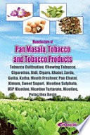Manufacture Of Pan Masala Tobacco And Tobacco Products Tobacco Cultivation Chewing Tobacco Cigarettes Bidi Cigars Khaini Zarda Gutka Katha Mouth Freshner Pan Chatni Kimam Sweet Supari Nicotine Sulphate Usp Nicotine Nicotine Tartarate Nicotine Polacrilex Resin