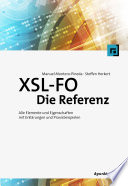 XSL-FO - Die Referenz