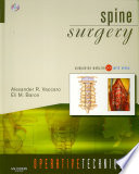 Spine Surgery : in spine surgery. topics covered include...