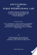 International Relations and Legal Cooperation in General Diplomacy and Consular Relations