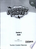 Language Power  Grades 3 5 Level B Teacher s Guide
