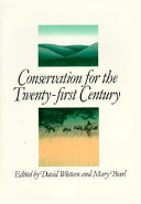 Conservation for the Twenty first Century