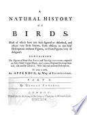 A Natural History Of Birds By George Edwards