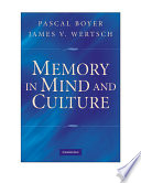 Memory In Mind And Culture