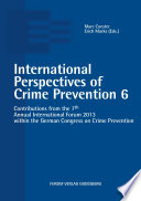 International Perspectives of Crime Prevention 6