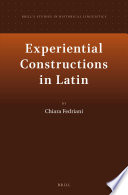 Experiential Constructions in Latin