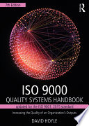 Iso 9000 Quality Systems Handbook Updated For The Iso 9001 2015 Standard
