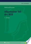 Medicus/Petersen, Allgemeiner Teil des BGB