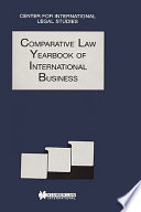 Comparative Law Yearbook
