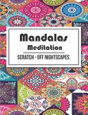 Mandalas Meditation Scratch Off Nightscapes