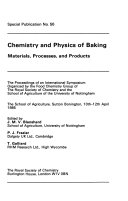Chemistry and physics of baking