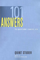 101 Answers to Questions Leaders Ask
