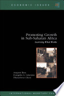 Promoting Growth In Sub Saharan Africa Learning What Works Epub