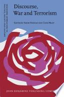 Discourse War And Terrorism book