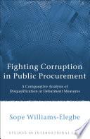 Fighting Corruption in Public Procurement
