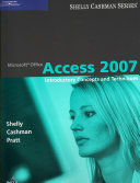 Microsoft Office Access 2007  Introductory Concepts and Techniques