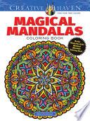 Creative Haven Magical Mandalas Coloring Book