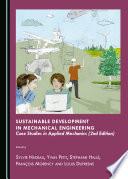 Sustainable Development in Mechanical Engineering