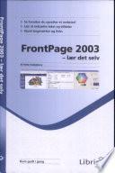 FrontPage 2003   l  r det selv