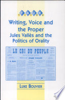 Writing  Voice and the Proper