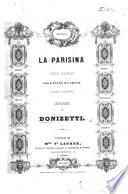 La Parisina  Op  ra complet pour Piano et Chant  paroles italiennes