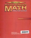 Prentice Hall Middle Grades Math