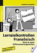 Lernzielkontrollen Franz  sisch