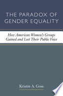 The Paradox of Gender Equality