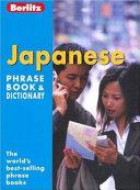 Berlitz Japanese Phrase Book & Dictionary