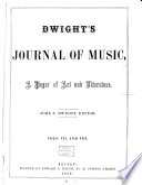 Dwight s Journal of Music