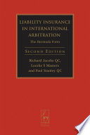 Liability Insurance in International Arbitration