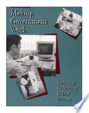 Making government work   electronic delivery of federal services