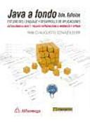 Java A Fondo Estudio Del Lenguaje Y Desarrollo De Aplicaciones