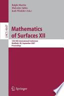 Mathematics of Surfaces XII
