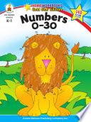 Numbers 0 30  Grades K   1