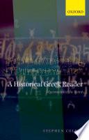 A Historical Greek Reader