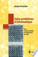 Seize Problmes Dinformatique