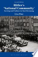 Hitler's 'National Community'