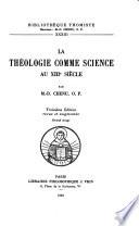 illustration La théologie comme science au XIIIe siècle