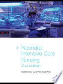 Neonatal Intensive Care Nursing Book PDF