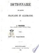 Dictionnaire des Langues Francaise et Allemande