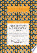 Feed In Tariffs In The European Union