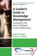 A Leader s Guide to Knowledge Management