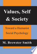 Values, Self and Society His Own Life Course And
