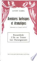 Aventures Burlesques Et Dramatiques