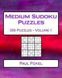 Medium Sudoku Puzzles Volume 1