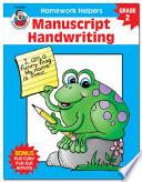 Manuscript Handwriting  Grade 2