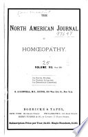 The North American Journal of Homeopathy