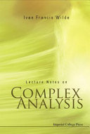 Lecture Notes on Complex Analysis